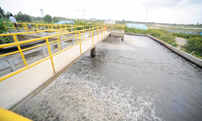 Sewage water