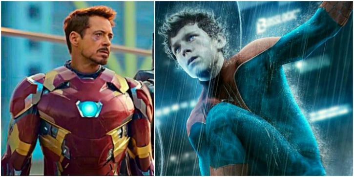 iron man-spider man