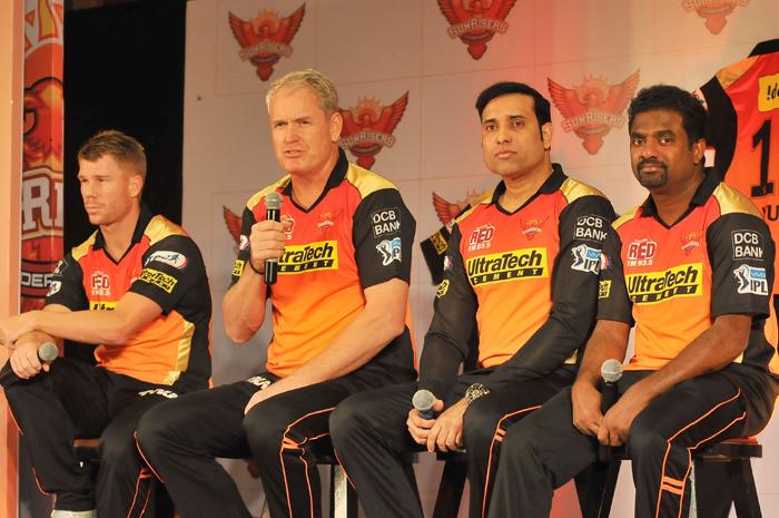 Sunrisers Hyderabad support staff