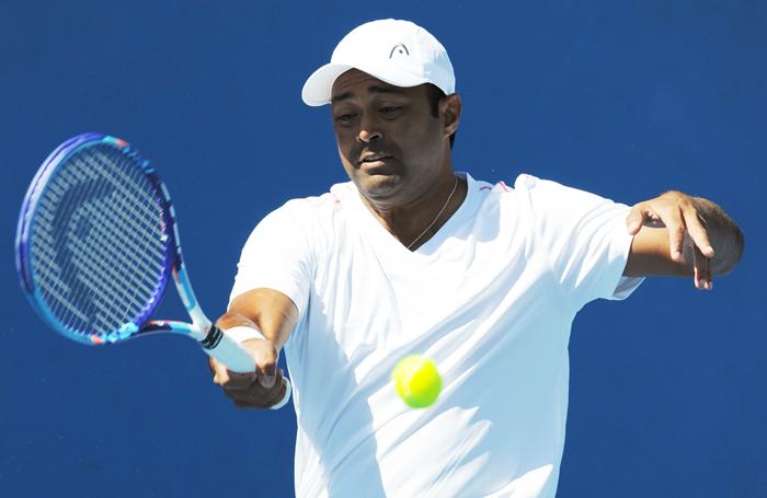 Indian tennis star Leander Paes