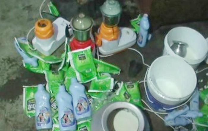 adulterated milk