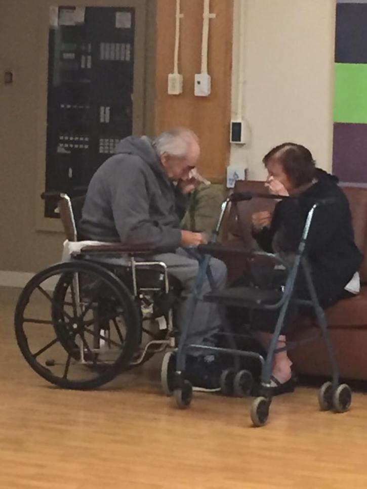 Elderly Canadian Couple