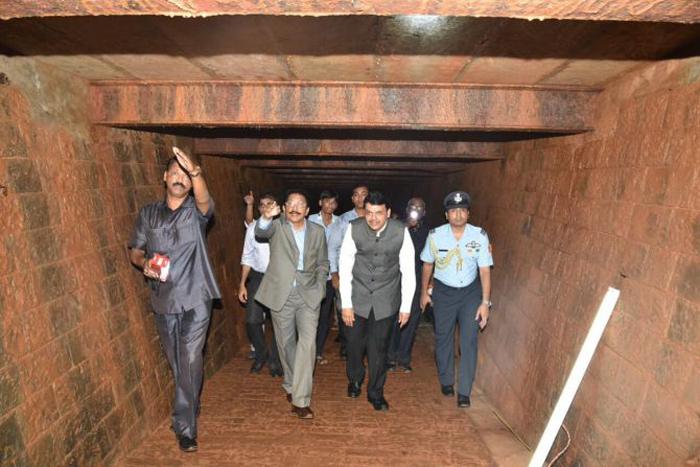 100 Yrs On, 13-Room Bunker Rediscovered At Mumbai Raj Bhavan