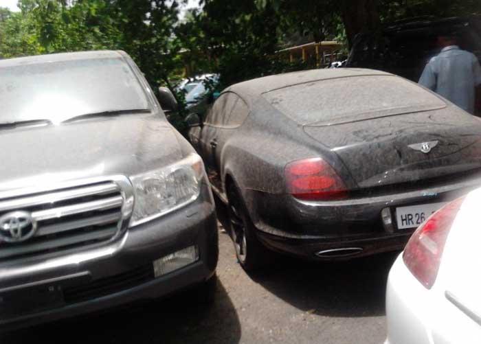 car stolen