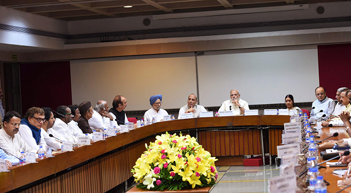 All Party Meeting on Kashmir