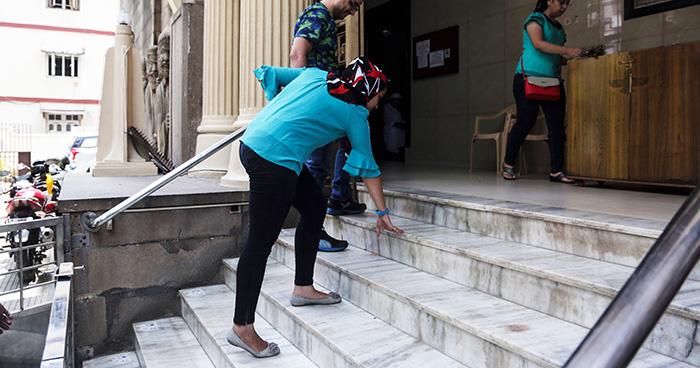 Women Enter In Temple