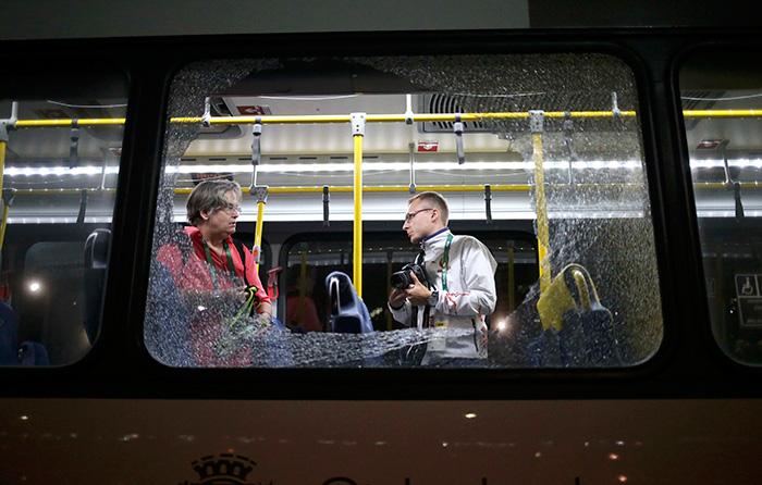 Rio Bus Attack