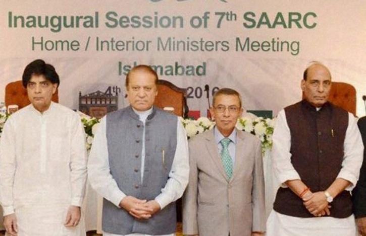 Prime Minister Nawaz Sharif with India