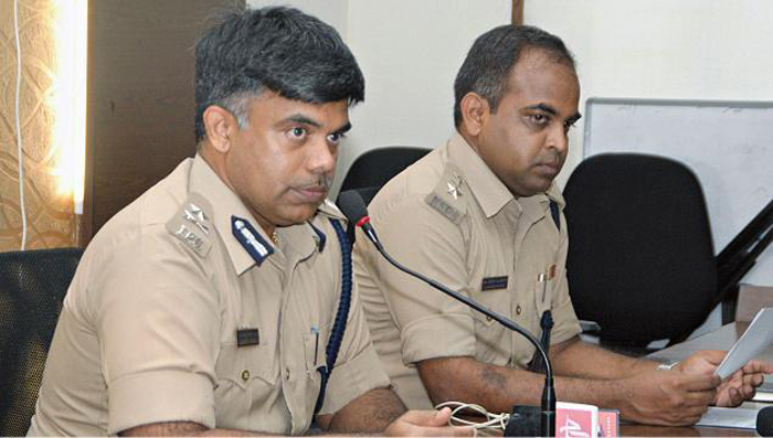 M Chandra Sekhar, city police commissioner