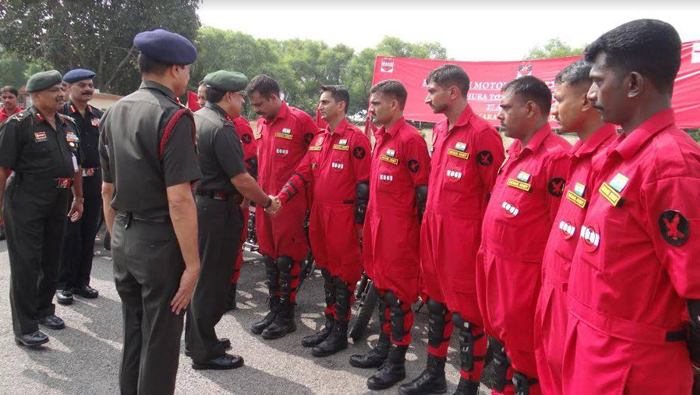14 Army Men Biking All Over India To Meet Families Of Martyrs