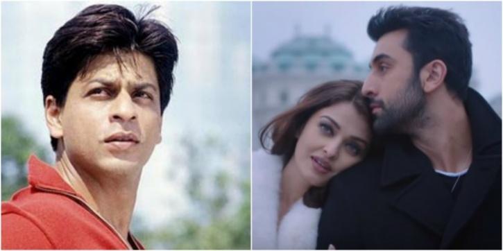 Shah Rukh Khan and Aishwarya raiu