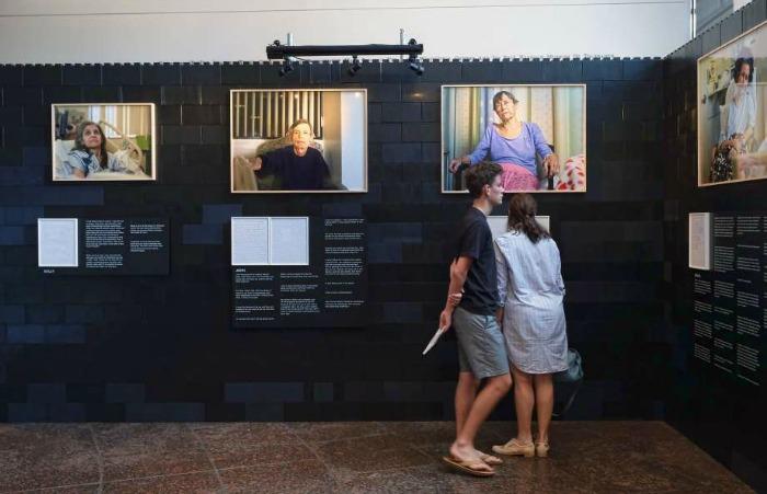 Andrew George, LA exhibition