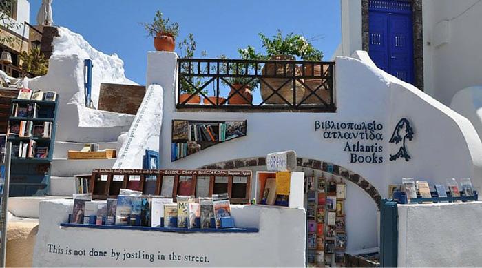 Atlantis Book Store, Oia, Santorini