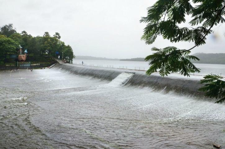 Overflowing Vihar Lake