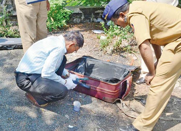 Cops Find 40 YO Woman Dead Body In Suitcase
