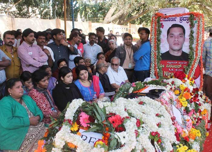 Pathankot Martyr , Lt Col Niranjan