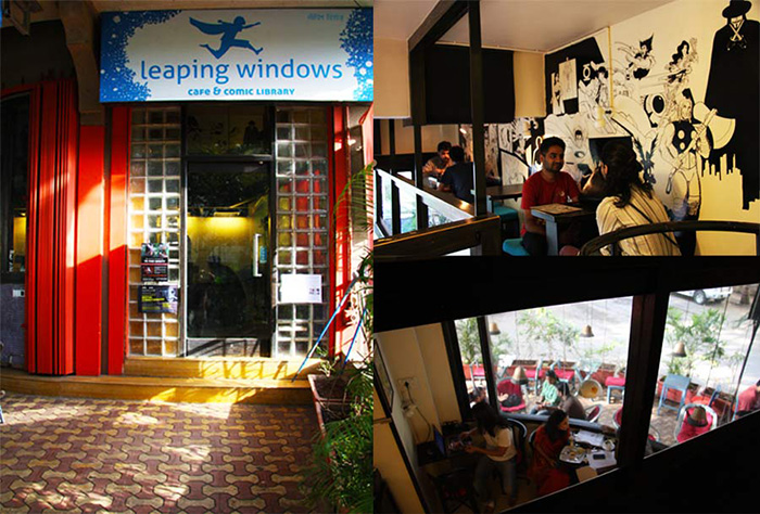 Leaping Windows Library & Café, Versova