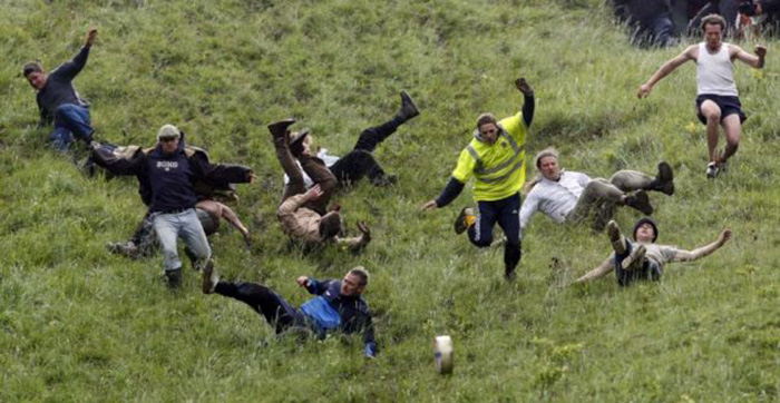 Cheese Rolling, England
