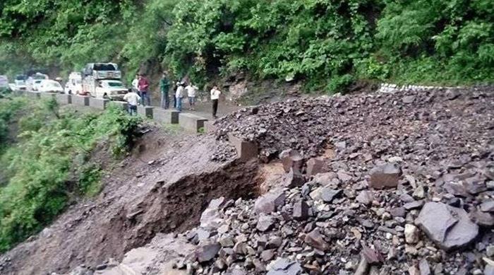 Landslide Near Mata Vaishno Devi