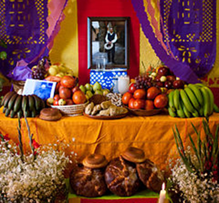 Festival of the dead, Mexico