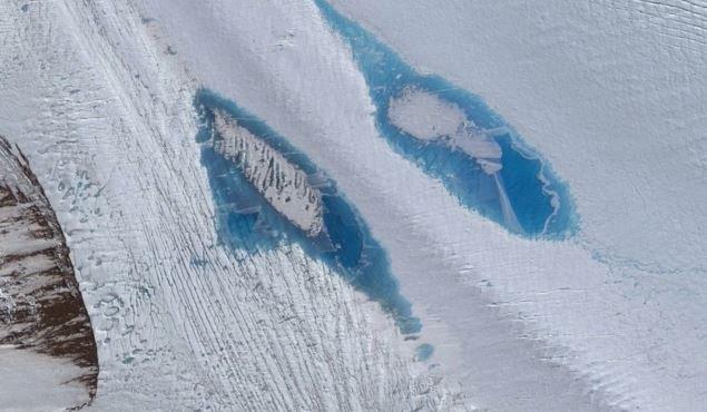 Antarctica blue