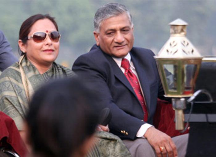 Bharti Singh and VK Singh