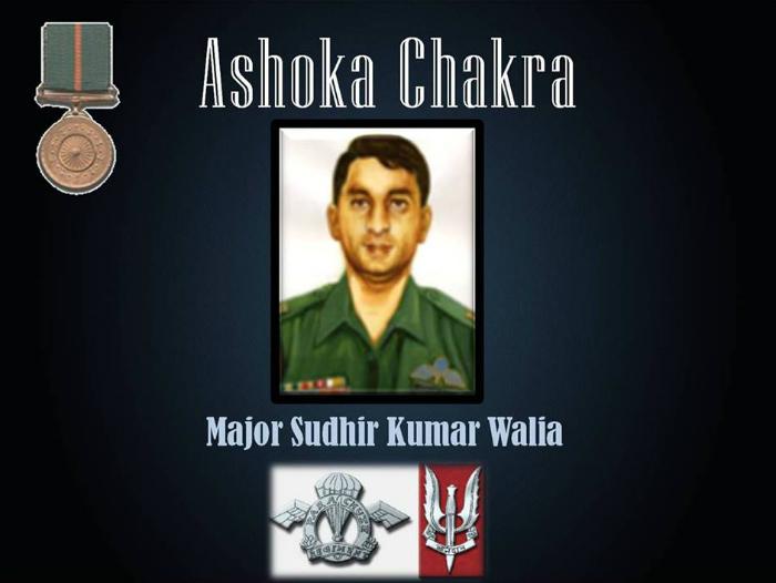 Major Sudhir Walia
