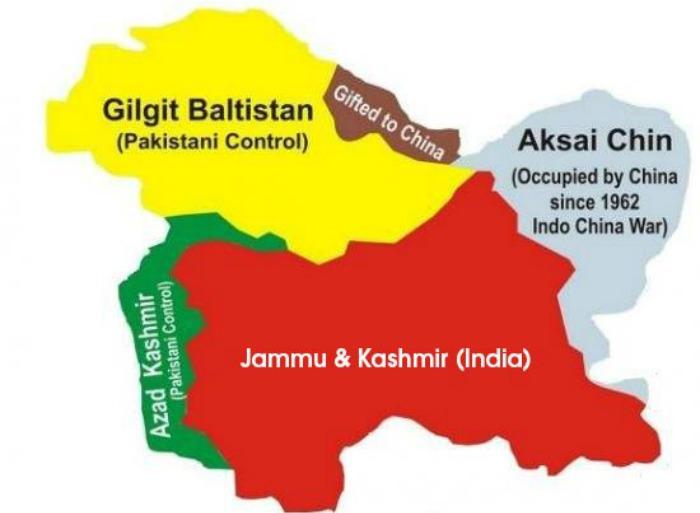 Gilgit Map