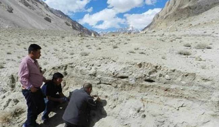 Camping site discovered in Ladakh