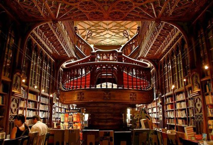 Livraria Lello e Lrmao, Portugal