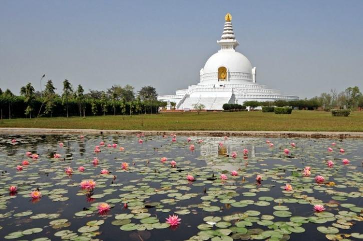 Lumbini stupa