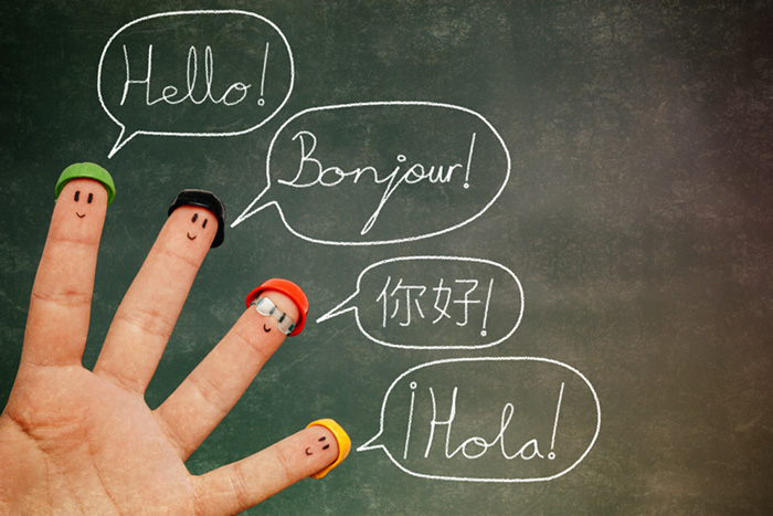 Learn a foreign language.
