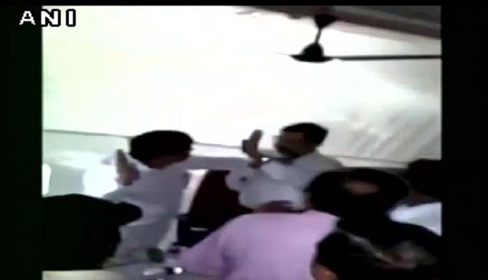 MLA slapping Deputy Collector