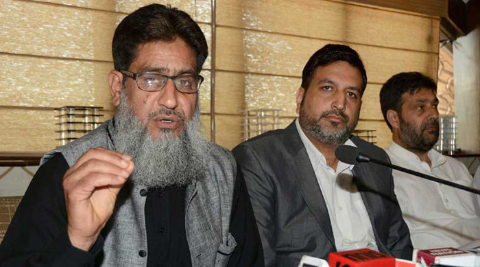 Mohd Yasin Khan, president of Kashmir Traders and Manufacturers Federation