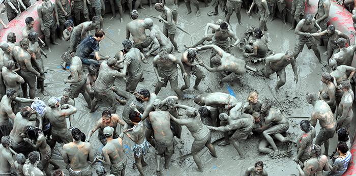 Buryeong Mud Festival, South Korea