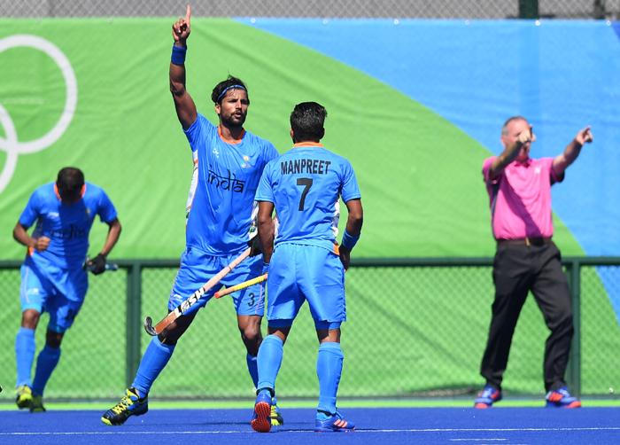 India players celebrate