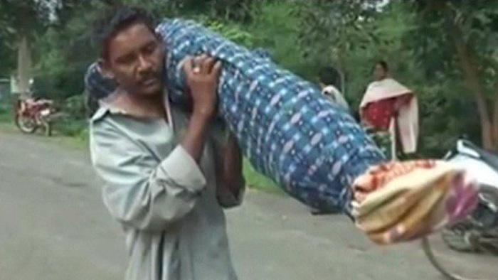 Man Carrying Dead Wife
