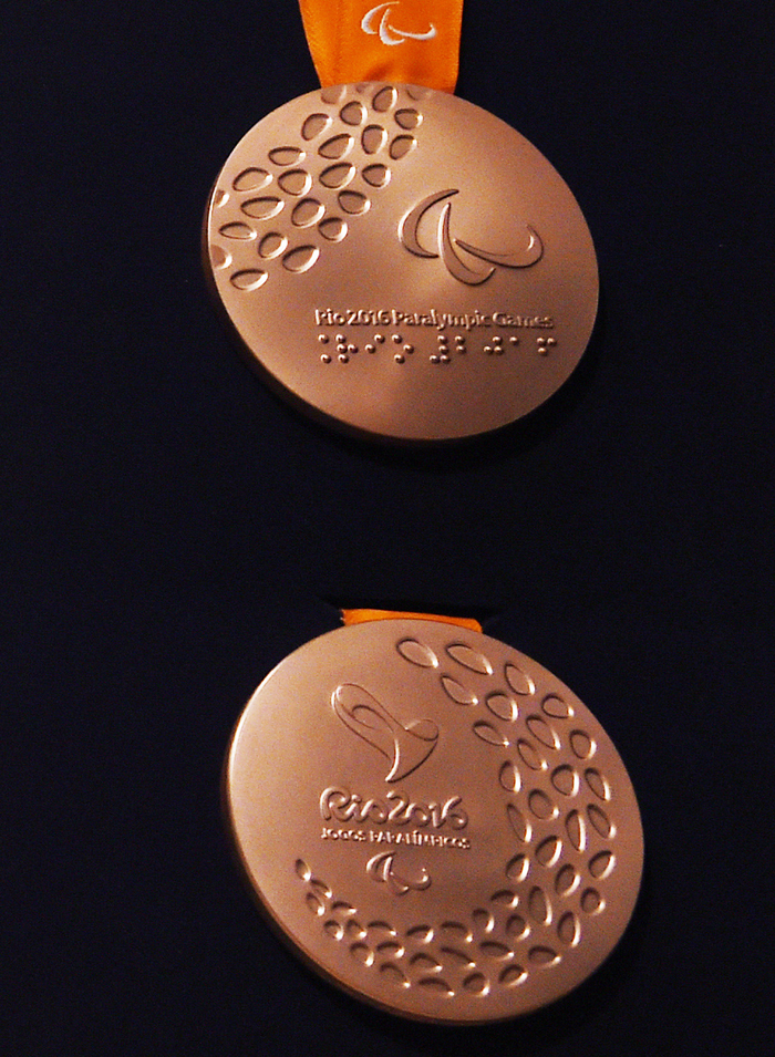 paralympic bronze medal