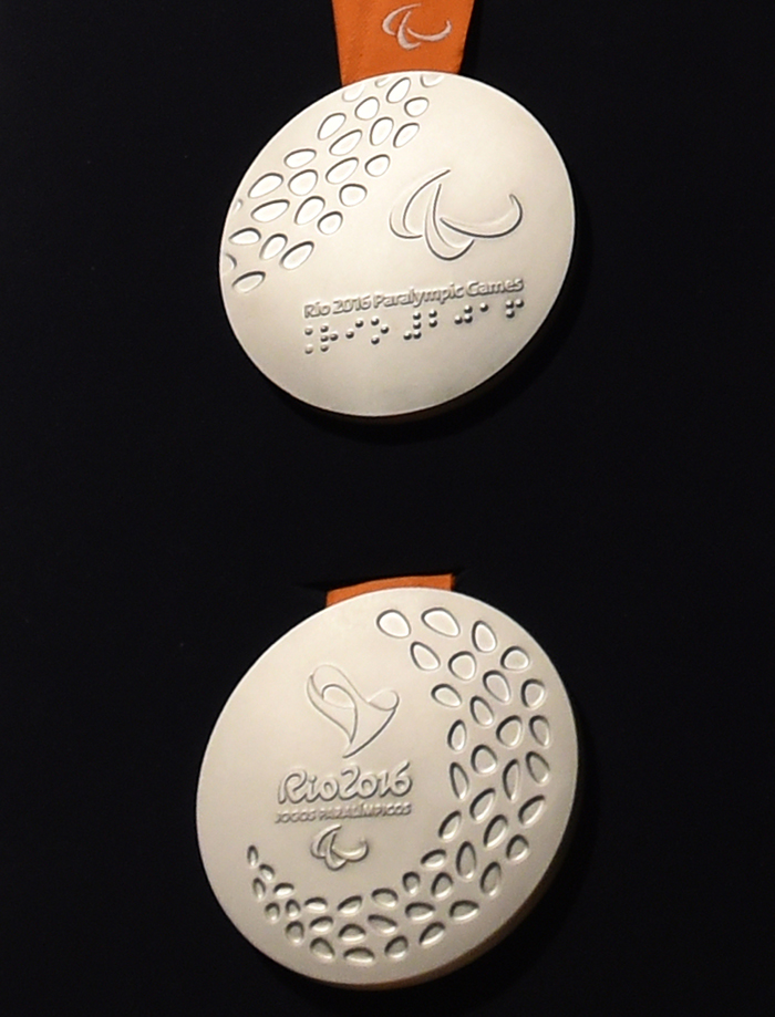 paralympic silver medal