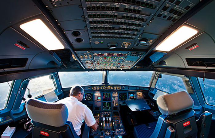 Airplane from Inside