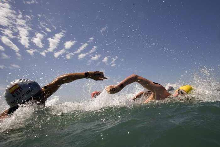 Rio: Platform For Open-Water Swimming Collapses
