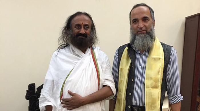 Sri Sri Ravi Shankar & Muzaffar Wani