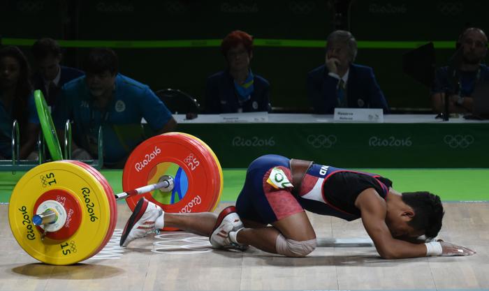Thai weightlifter
