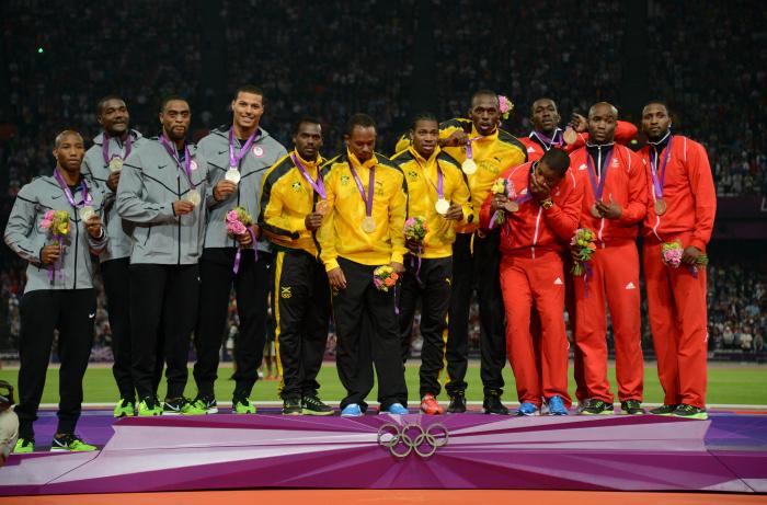 Trinidad Team (extreme right)