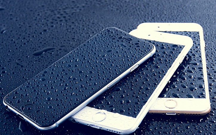 wet iphone 7