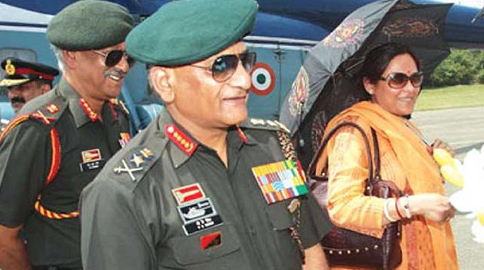 VK Singh and Bharti Singh
