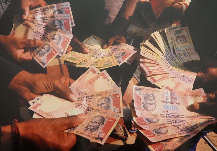 Kolkata Market Old Notes