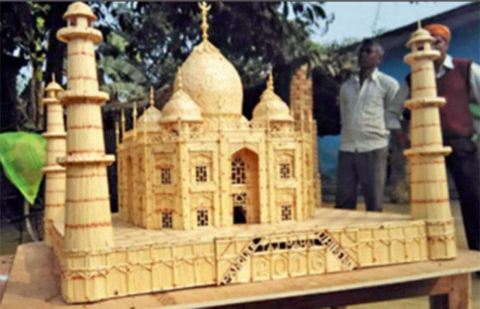 Match Stick Taj Mahal