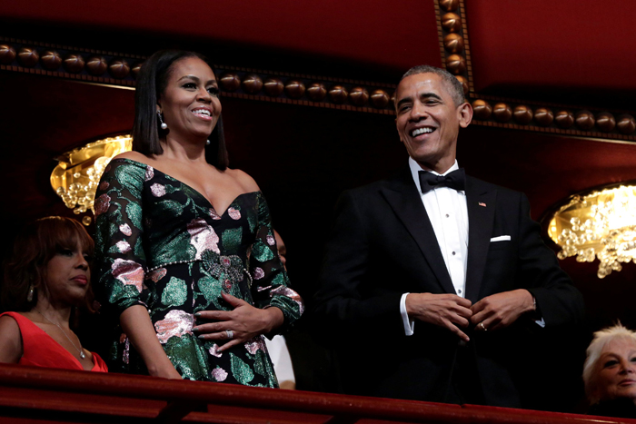 Barack Obama ,Michelle Obama