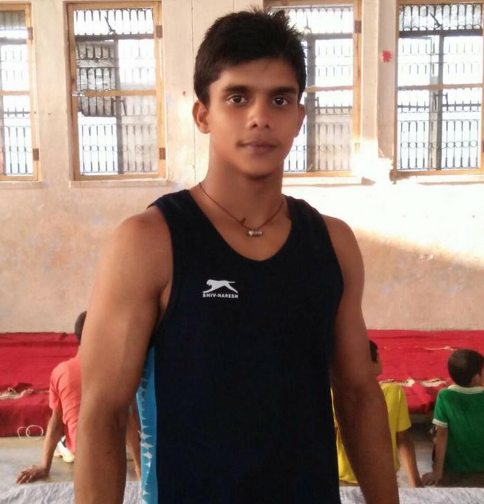 Gymnast Brijesh Yadav